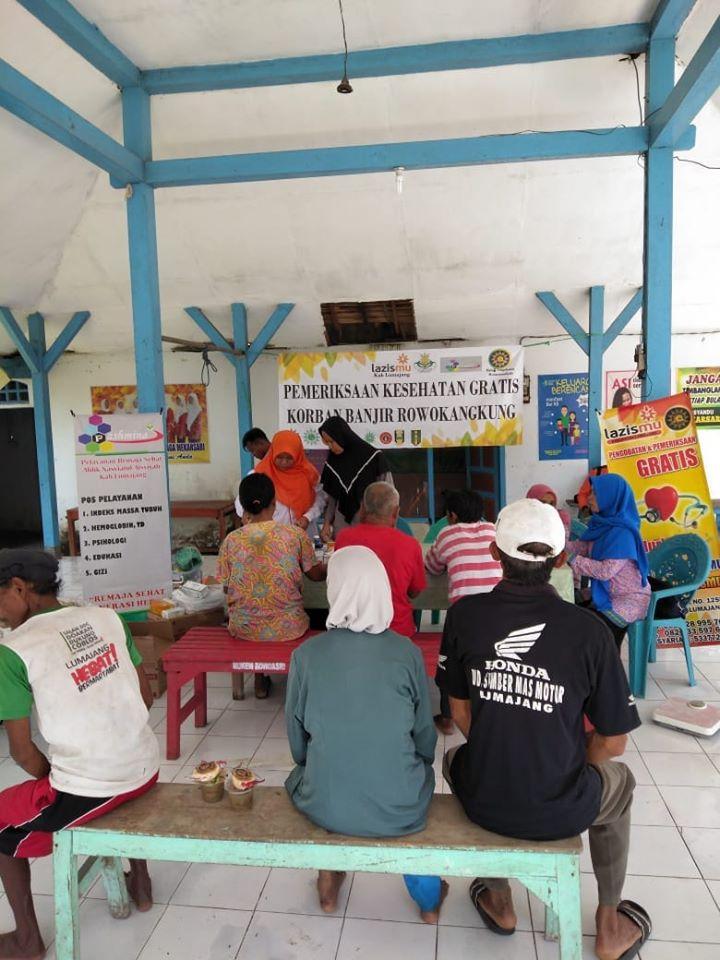 Penanganan Pasca Bencana Banjir Rowokangkung