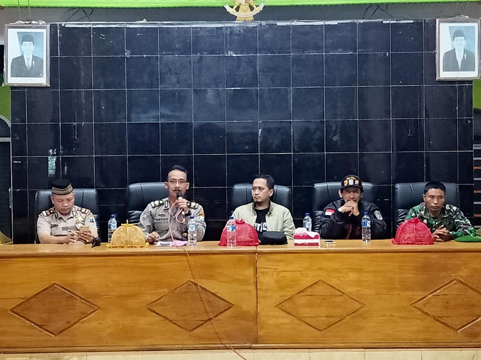 Penilaian dan Pembinaan Satgas Keamanan Desa